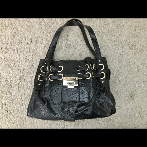 583e662a97 Jimmy Choo Bags   Handbag Dark Blue Patent Leather   Poshmark